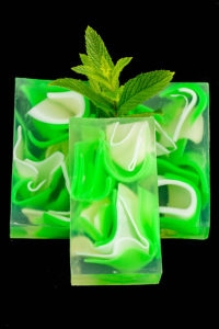 Spearmint Clear Glycerin Soap