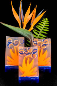 Bird of Paradise Clear Glycerin Soap