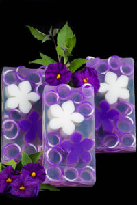Lilac Clear Glycerin Soap