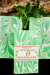 Peppermint Olive Oil Soap