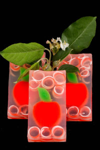 Red Apple Clear Glycerin Soap