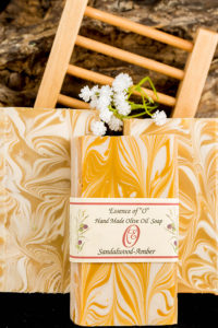 Sandalwood Amber Olive Oil Soap