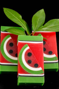 Watermelon Clear Glycerin Soap