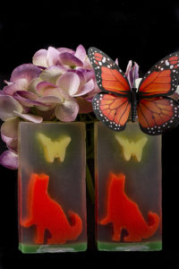 Floral Fantasy Clear Glycerin Soap