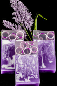 Lavender Clear Glycerin Soap