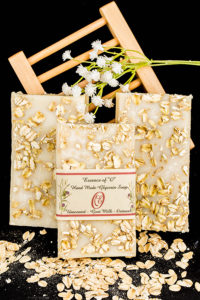 Oatmeal Unscented Olive Oil Soap